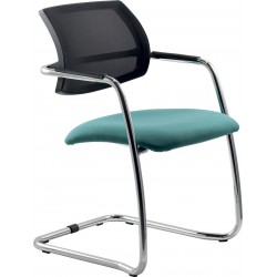 Art. 617B net or upholstered low chair