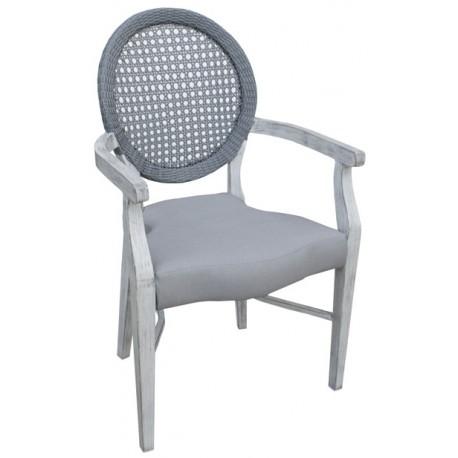 Art. 764P Royal aluminium armchair